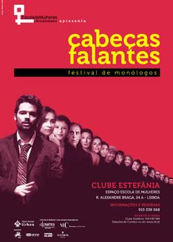 Cabeças Falantes - Festival de Monólogos