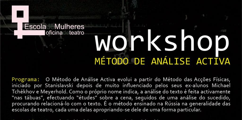 Workshop Método de Análise Ativa